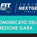 NextGen, certificazione spostamenti