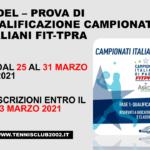 Qualificazioni Campionati Italiani di Padel, pubblicati i tabelloni