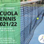 Scuola Tennis 2021-22, ecco la data di inizio dei nuovi corsi