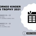 Tennis trophy Kinder 2021, ecco le date delle tappe di Benevento